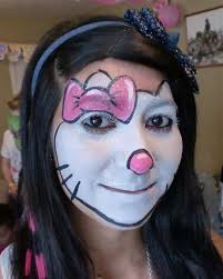 halloween kitty face face painting illusions and balloon art llc face painting hello