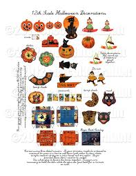 Vintage Halloween Decorations For Sale 214 Best Miniature Halloween Images On Pinterest Dollhouse