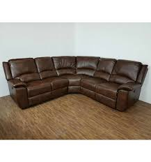 leather sofa outlet stores chelsea leather air electric recliner corner sofa brown