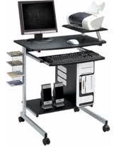 Compact Computer Desk Computer Desk Gray Desks Bhg Com Shop