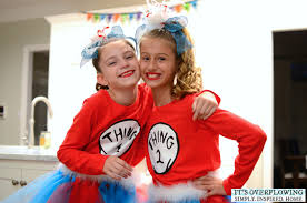 Dr Seuss Characters Halloween Costumes Easy Halloween Costume Dr Seuss Overflowing