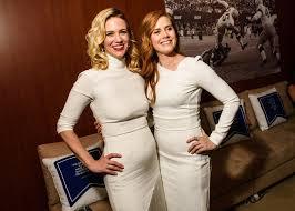 Vanity Fair Celebrity Photos Amy Adams January Jones And More Show Off Their Team Spirit At