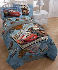 Cars Duvet Cover Disney Cars Tune Up Bedding Collection Bed In A Bag Bed
