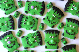 munchkin munchies frankenstein cookies quick u0026 easy