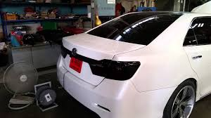 toyota camry trunk toyota camry 2014 active spoiler youtube