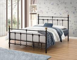 4ft bed birlea atlas 4ft small double black metal frame bed 149 beds