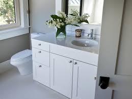 bathroom backsplash ideas with white cabinets subway tile closet