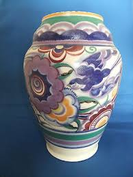 Poole Pottery Vase Patterns Poole Pottery Collection On Ebay