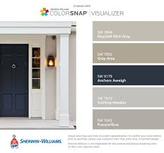 front door color research paint giveaway roycroft gray and