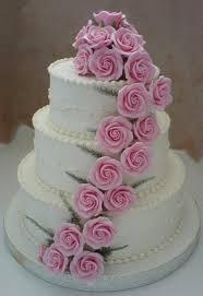 wedding cake roses wedding cakes pictures pink sugar roses wedding cakes