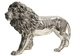 silver lion statue silver lion images search