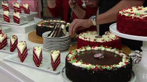 junior u0027s 4 5 lb chocolate dream or red velvet layer cake on qvc