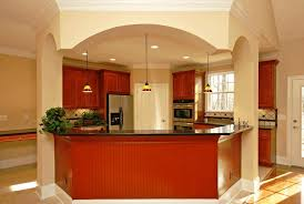 kitchen island designs for small kitchens bold red kitchen cabinet