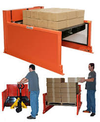 Pallet Lift Table by Floor Level Loading Tables Scissor Lift Tables Floor Level