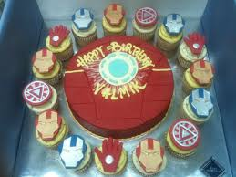 72 best cupcakes and cakes images on pinterest iron man cakes