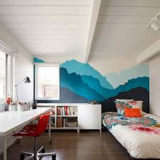 design awesome mid century modern bedroom ideas with white desk