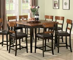 counter height dining room table sets countertop dining room sets of well coaster counter height dining