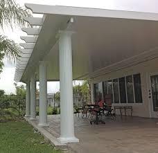 insulated patio roof panels florida icamblog aluminum pergola