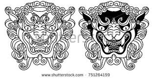 angry lion tattoo stock images royalty free images u0026 vectors