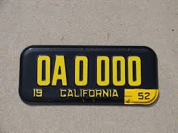 Ak Dmv Vanity Plates The Story Of License Plates Advance Auto Parts