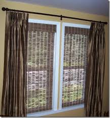 Stationary Curtain Rod Cote De Texas Window Treatments Do U0027s And Don U0027t
