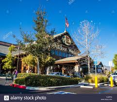 the bass pro shops store in rancho cucamonga california on stock