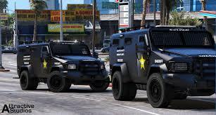 swat vehicles bcso lenco bearcat els gta5 mods com