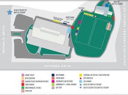 Camp Dearborn Map Detroit Lions Training Camp Policies