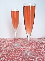 pink cocktail pink rose champagne cocktail lorimer street kitchen