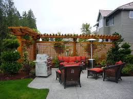 Outdoor Ideas For Backyard Some Style Outdoor Privacy Ideascapricornradio Homes