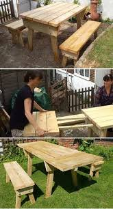 Free Plans For Wood Picnic Table by Free Diy Furniture Plans To Build A Potterybarn Inspired