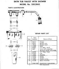 Bathroom Faucet Parts Names by Delta Faucet Parts Diagram Delta Find Image About Wiring Diagram