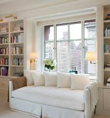 White Bookcase Daybed Built In Bookcases Either Side Of Daybed And Nick Hates This
