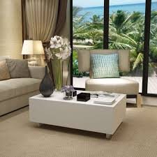 Gloss Living Room Furniture New Coffee Table Modern Furniture Side Mdf High Gloss Living Room