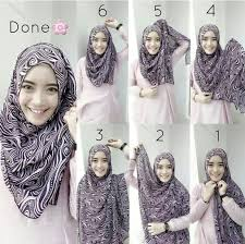 tutorial hijab pashmina tanpa dalaman ninja tutorial hijab pashmina simple mudah dan praktis tanpa ninja