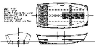 dinghy yacht tender boat plan woodworking project free wood