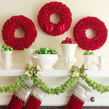 Images Of Mantels Decorated For Christmas 50 Gorgeous Holiday Mantel Decorating Ideas Midwest Living