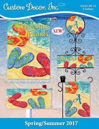 Fall Flags Yard Spring Summer 2017 Catalog By Custom Decor Issuu