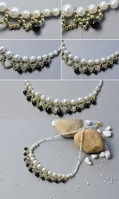 tutorial pearl necklace images 177 best doll jewelry accessories images diy jpg