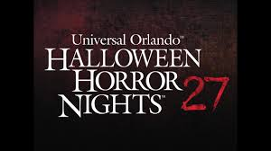halloween horror nights 2015 rumors hhn 27 orlando all the houses were leaked 3 30 17 youtube