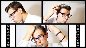 what hair product to use in comb over mens hair classic combover how to style youtube