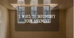 5 best ways to dehumidify a basement cool dehumidifier