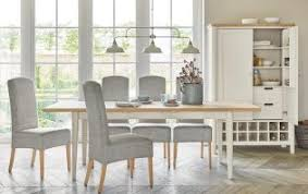 Next Dining Chairs Buxton 6 8 Seater Extending Dining Table Solid Oak Top With
