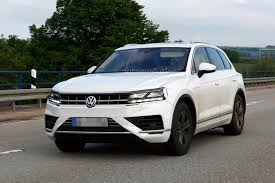 2018 volkswagen touareg spied almost undisguised autoevolution