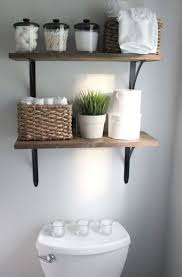 Storage Solutions For Small Bathrooms Best 25 Bathroom Shelves Ideas On Pinterest Half Bath Decor