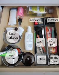 organizing cosmetics a conundrum clutterbgone one common