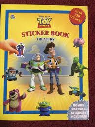 toy story sticker book treasury 350 stickers buzz lightyear