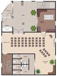 sample floor plan draw pert chart online office floor plan design