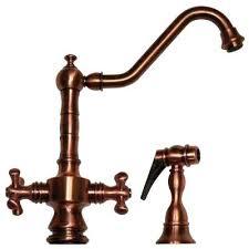 antique copper kitchen faucet residential spring coil kitchen faucet in antique copper italia
