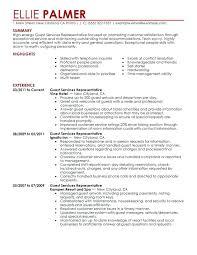 resume sample resume skills section guest service representative